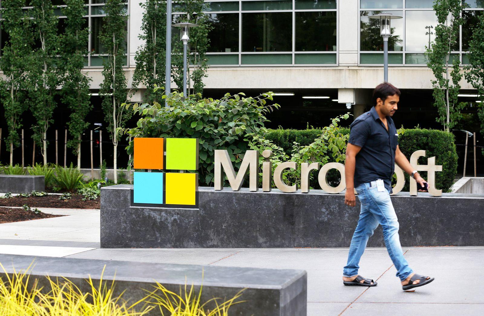 Microsoft / Zentrale / Mitarbeiter