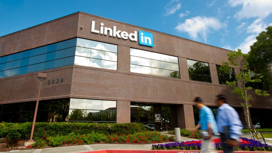 Linkedin-Zentrale im kalifornischen Mountain View: Microsoft übernimmt den Xing-Konkurrenten