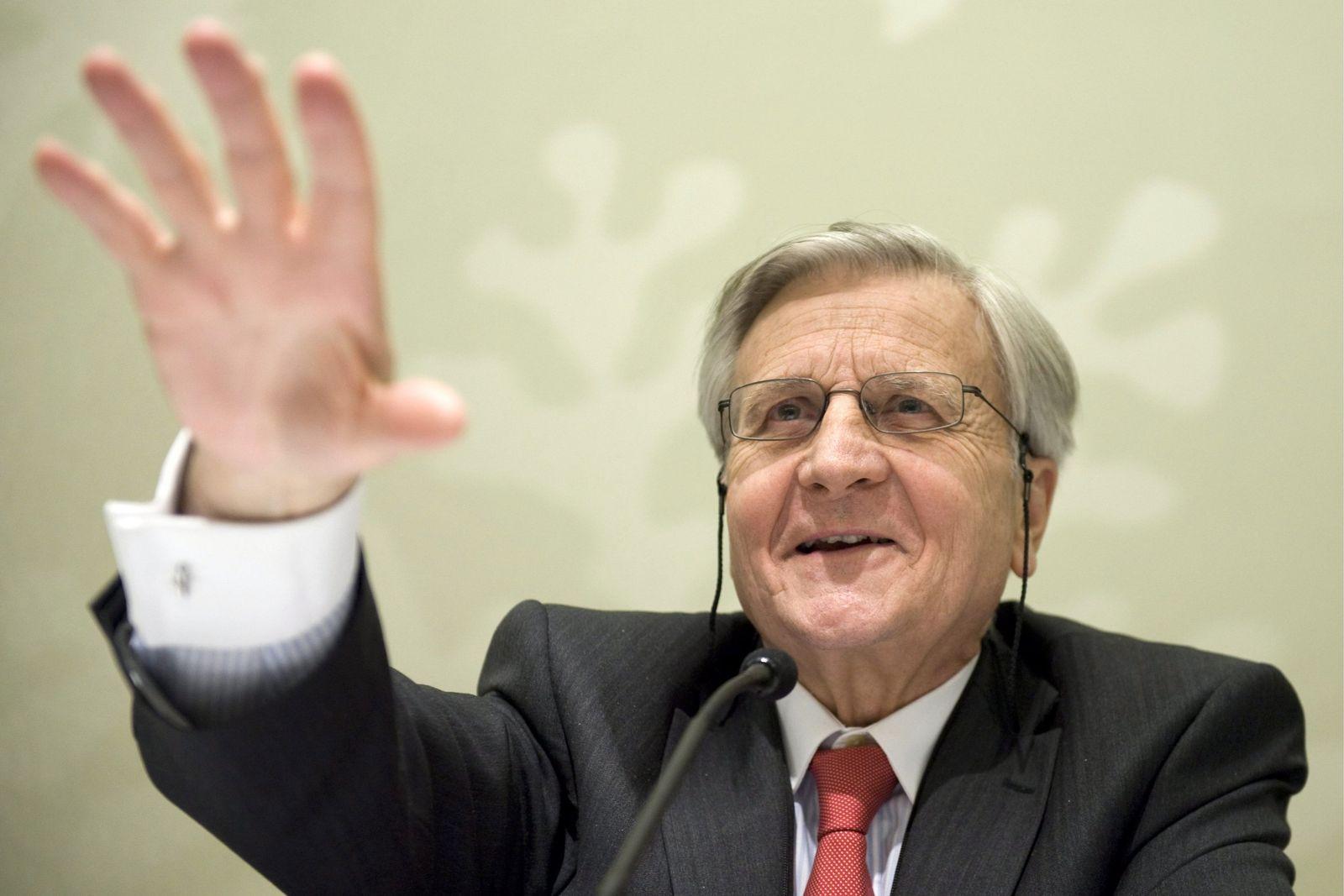 Jean-Claude Trichet, president of the European Central Bank ECB,