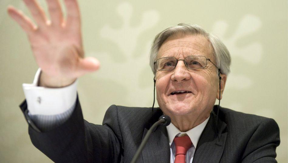 Leitet die Wende ein: EZB-Chef Trichet begründet heute die Zinserhöhung