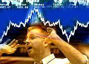 Weiter nervös: Die Marktteilnehmer können das Risiko der Kreditkrise noch nicht abschätzen