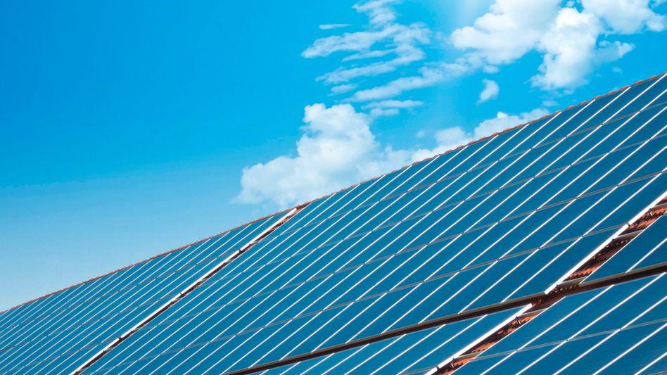 Saubere Lösung: Aus Sonnenkraft lässt sich umweltschonend Energie gewinnen - auch auf Dächern