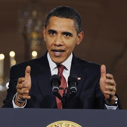 Macht Druck: US-Präsident Barack Obama macht Druck beim Konjunkturpaket