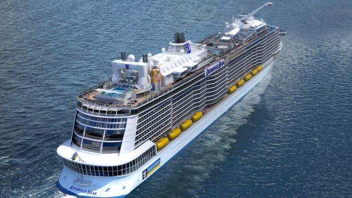 """Ab April unterwegs: Die """"Anthem of the Seas"""""""