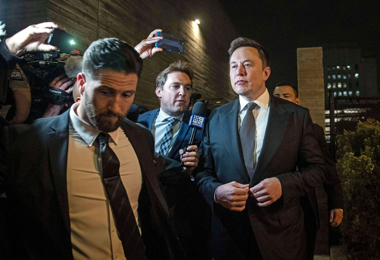 Elon Musk on trial for defamation of British diver Vernon Unsworth, in USA, Los Angeles - 03 Dec 2019