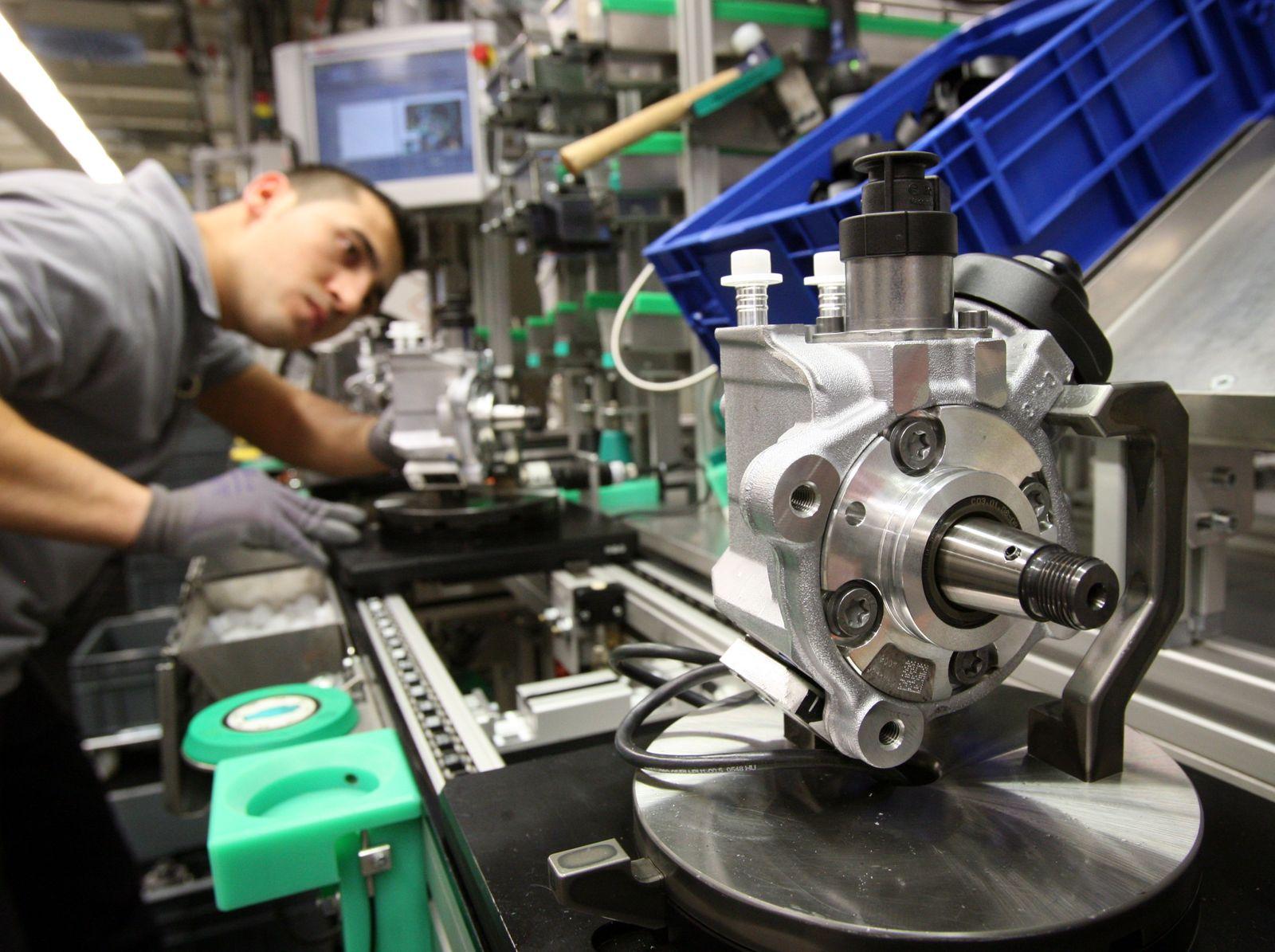 Produktion bei Automobilzulieferer Bosch
