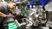 Aufträge der deutschen Industrie brechen ein
