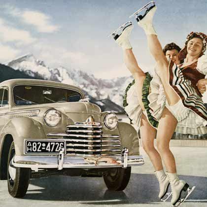 Vergangene Glorie: 1951 gehörte Opel fast 30 Jahre lang zu GM - und kopierte mit dem Modell Olympia US-Vorbilder