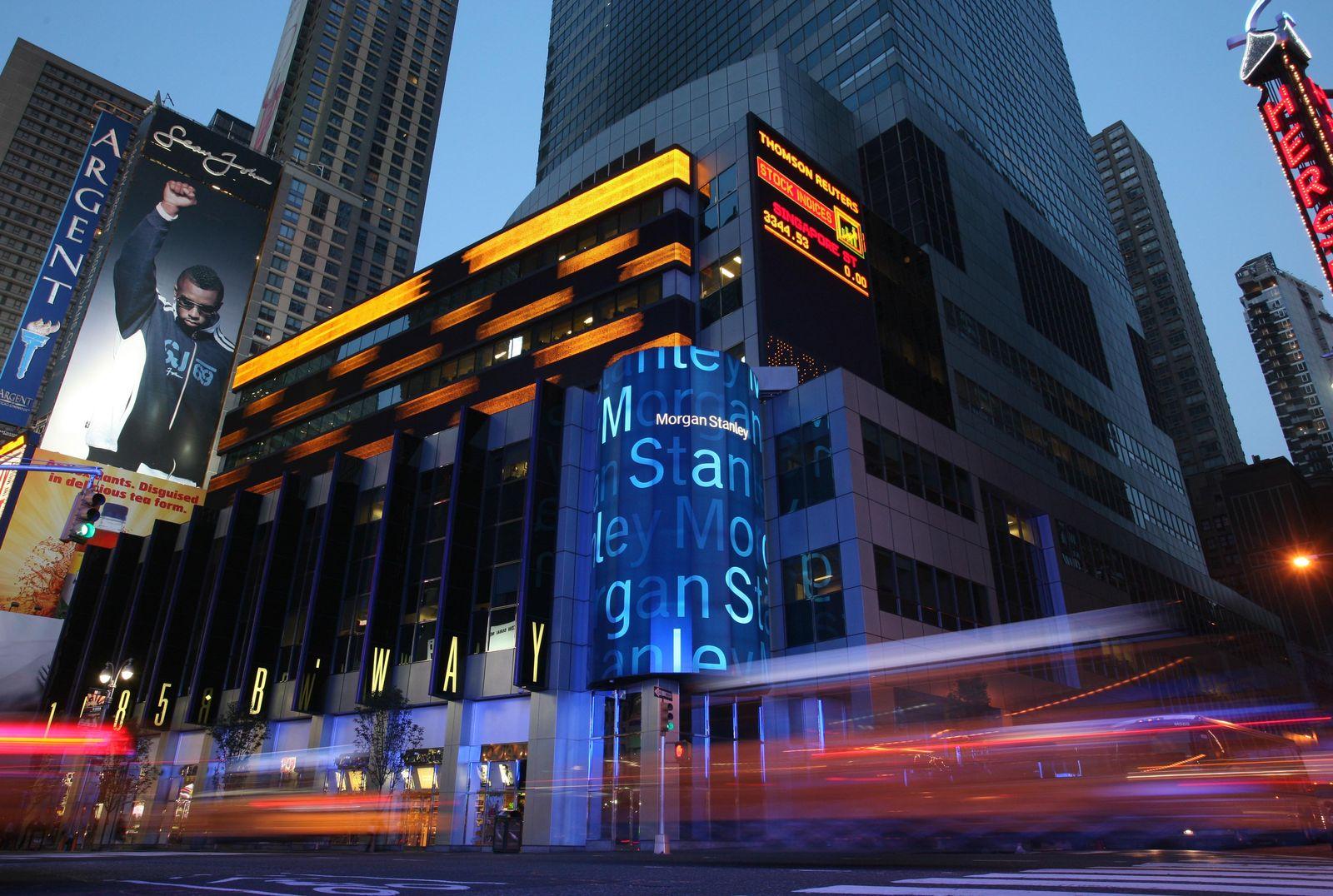 USA Großbank Morgan Stanley New York