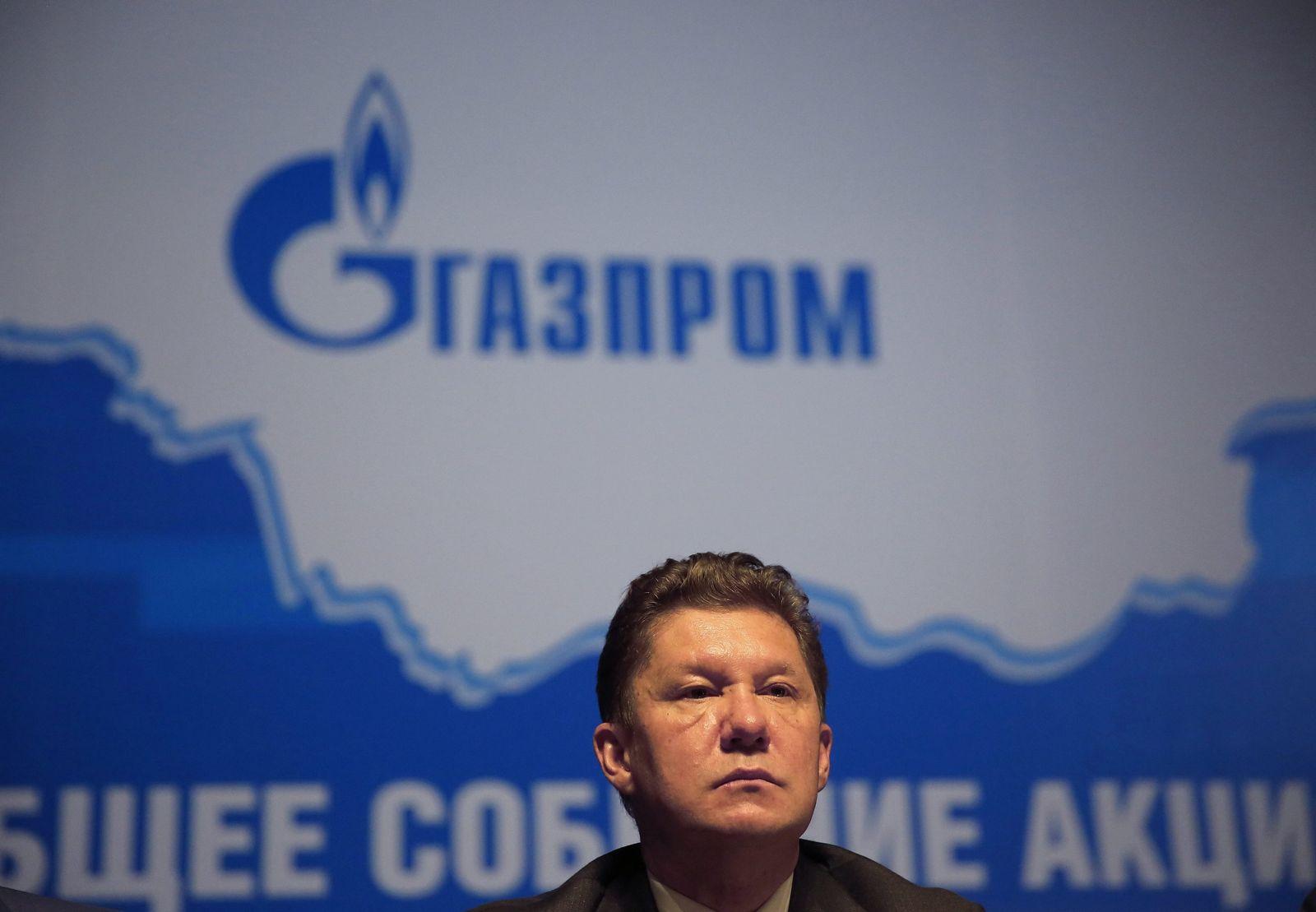 Gazprom Alexej Miller