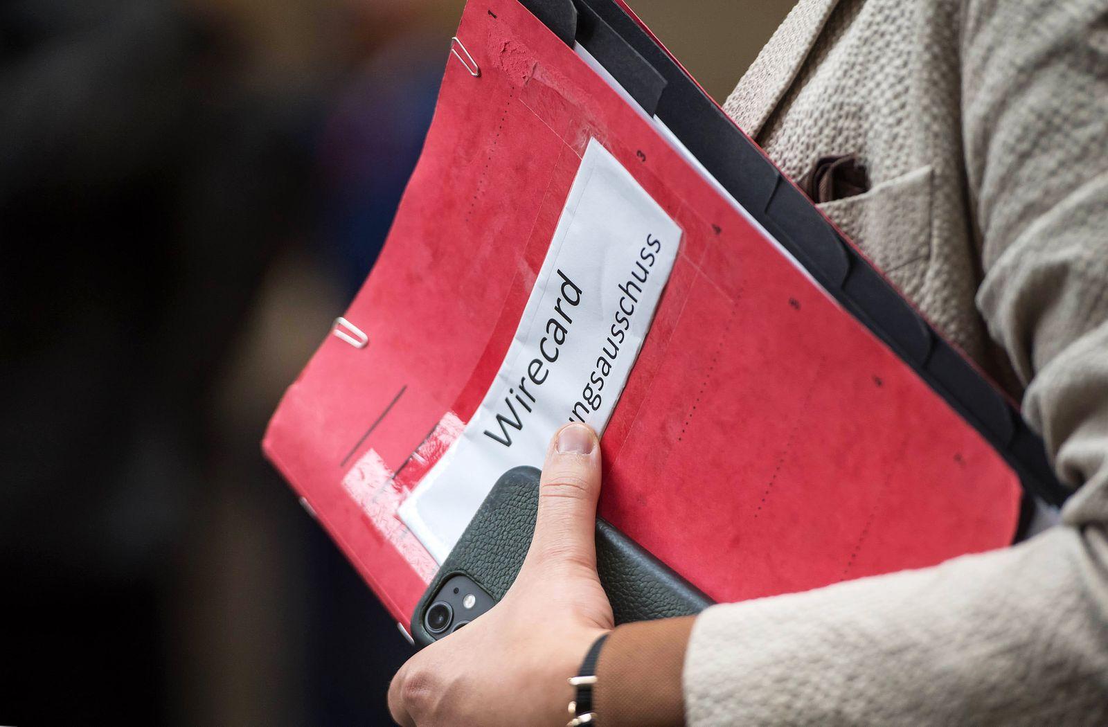 Politik Wirecard-Untersuchungsausschuss Konstituierung des 3. Untersuchungsausschusses der 19. Wahlperiode ( Wirecard )