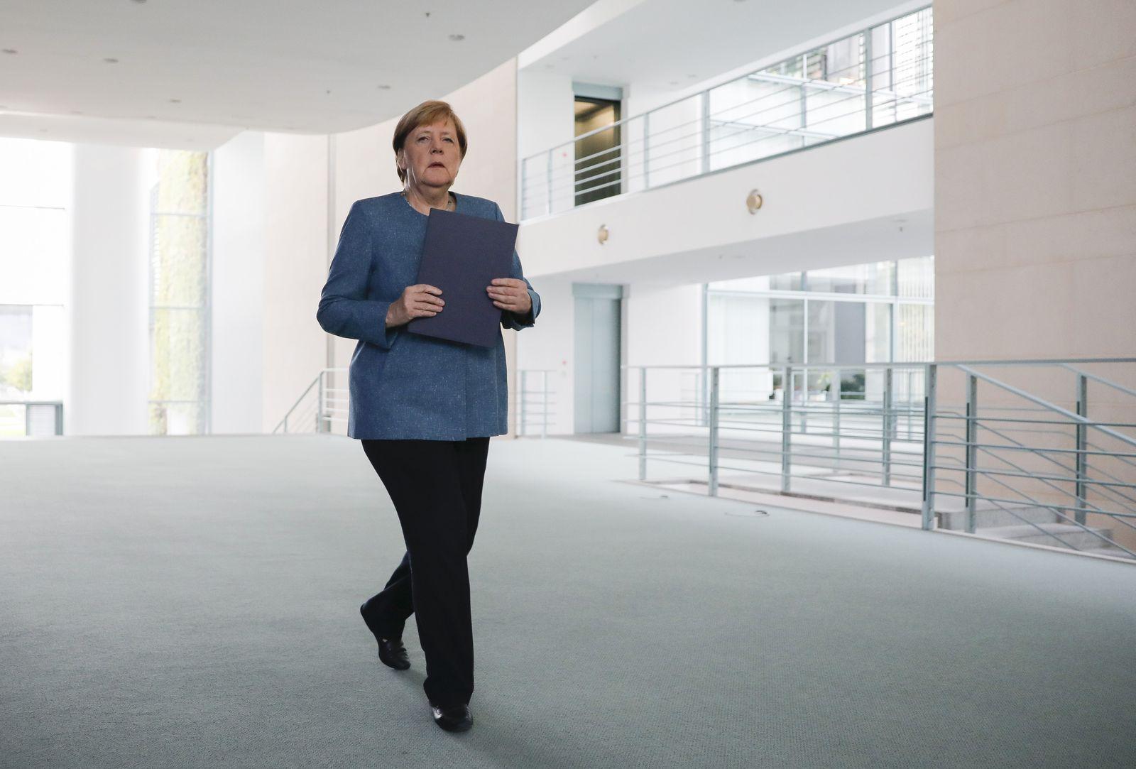 Bundeskanzlerin Merkel - Kreml-Kritiker Nawalny