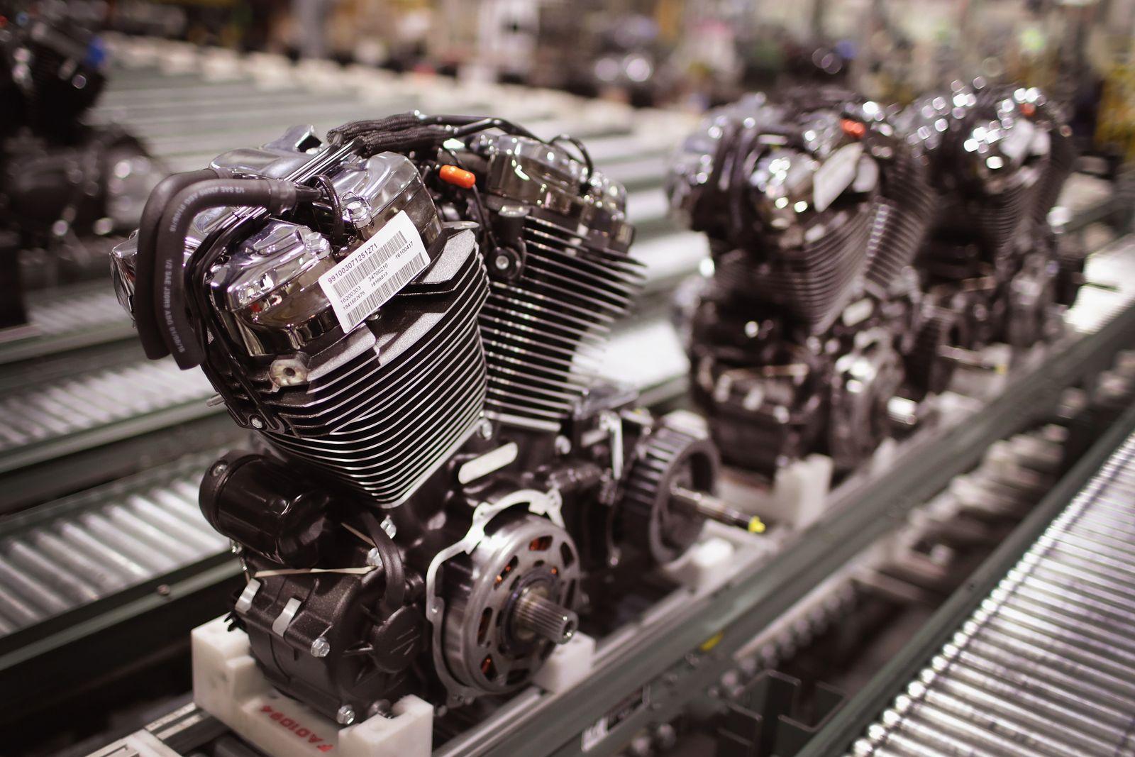 Harley-Davidson / Motoren