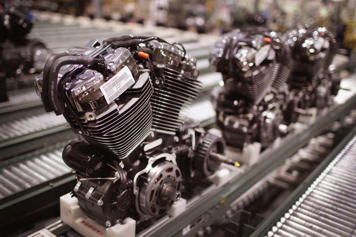 Motorenwerk in Wisconsin