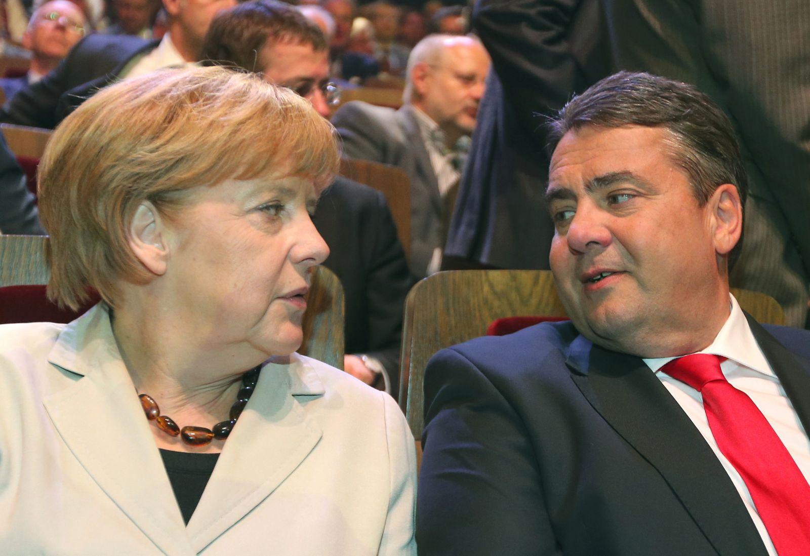 Gabriel / Merkel