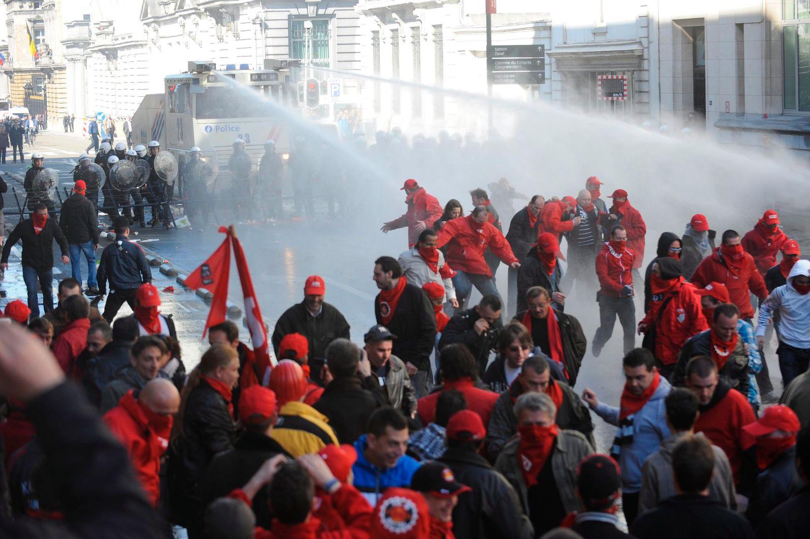 Demonstration / Brüssel