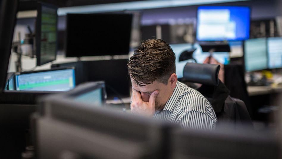 Börse in Frankfurt: Der Dax hat seit Ende September um mehr als 1000 Punkte nachgegeben