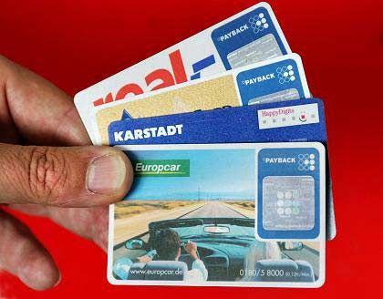Begehrtes Plastik: Bonuskarten von Payback