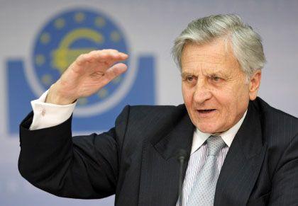 Höhe der Zinsen: Schon reagiert Trichet auf die Krise