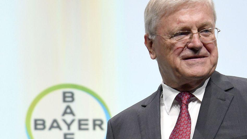 Reagiert auf Kritiker: Bayers Aufsichtsratschef Werner Wenning.