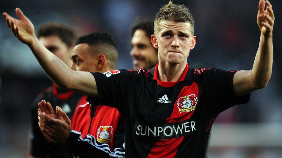 Bayer-Leverkusens Mittelfeldspieler Lars Bender: Verein will sich über die deutschen Landesgrenzen hinaus vermarkten