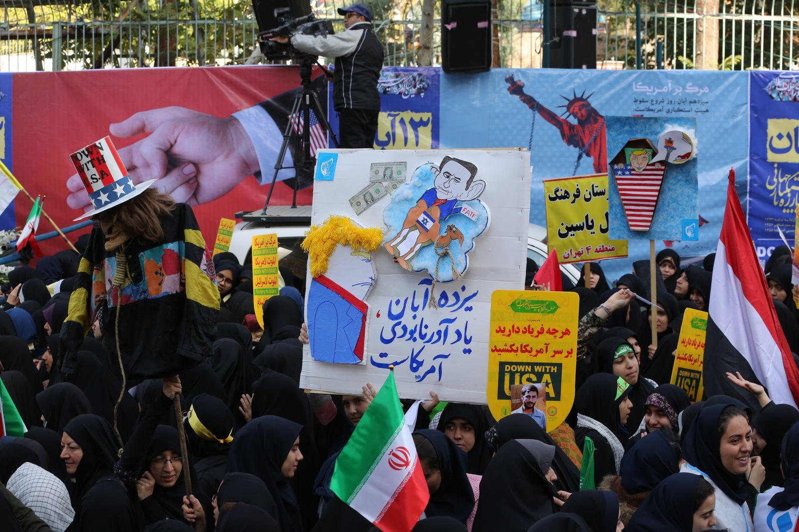 Demo Tehran Anti-USA