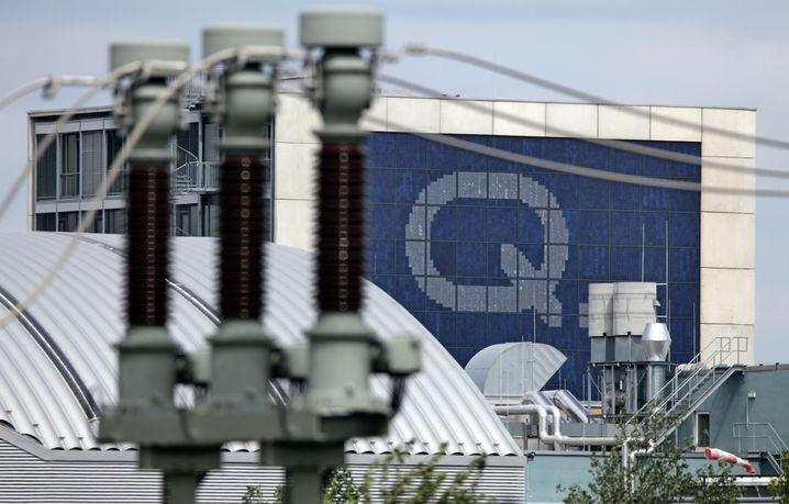 Q-Cells in Thalheim: Für 250 Millionen Euro kaufen die Südkoreaner den deutschen Solarkonzern