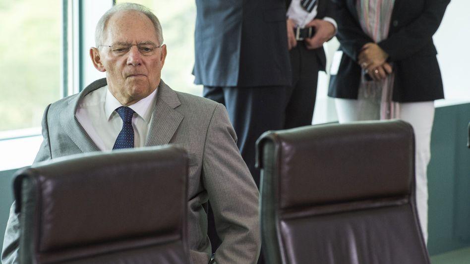 """Schäuble: """"Es gehört zur Demokratie, dass man auch einmal unterschiedliche Meinungen hat"""""""