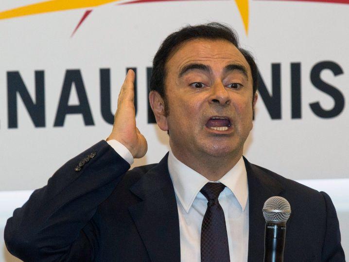 Carlos Ghosn: Der Automanager hatte die Partnerschaft zwischen Renault, Nissan, Mitsubishi zum Erfolg geführt