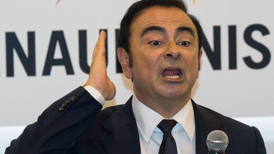 Inhaftierter Automanager Carlos Ghosn: Die Nissan-Führung wollte ihn angeblich los werden
