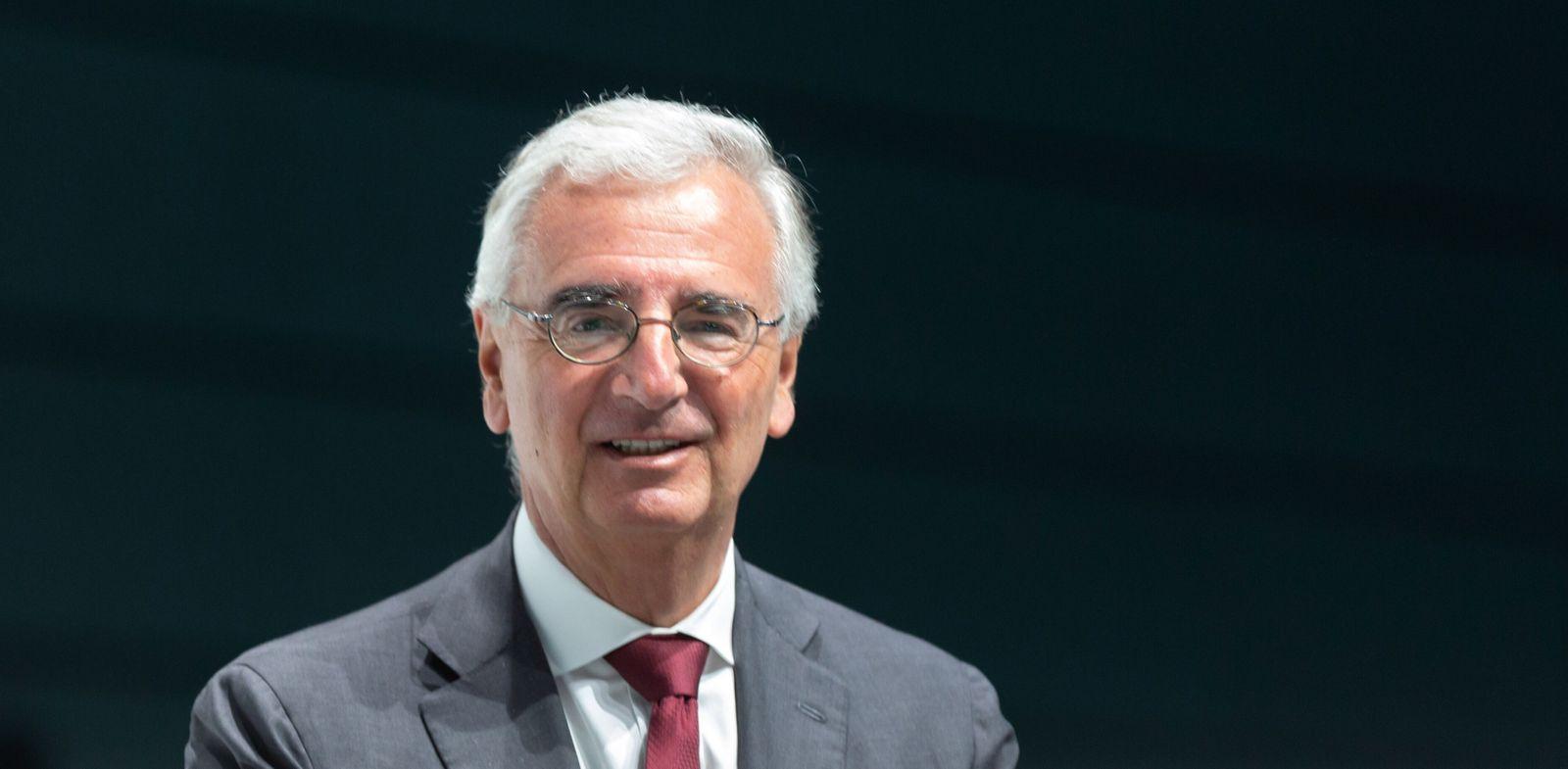 Bonn, Germany, April 26 2019, Bayer AG annual general meeting: Member of the supervisory board Paul Achleitner. (Jürgen Schwarz)