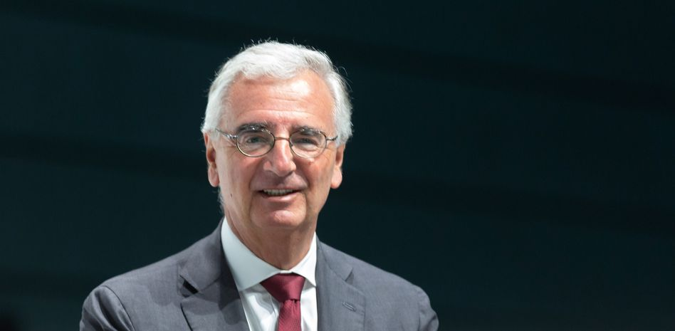 Kampferprobt: Aufseher Paul Achleitner, hier auf der Bayer-Hauptversammlung 2019, sammelte auch bei der Deutschen Bank Erfahrung.