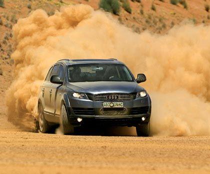 Wirbelt Staub auf: Der Audi Q7 folgt dem Trend zu Luxusgeländewagen