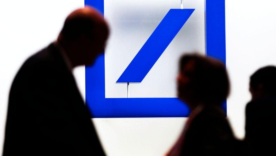 Dax-Gewinner: Die Aktie der Deutschen Bank vollführte dank der Schützenhilfe der EZB einen Kurssprung