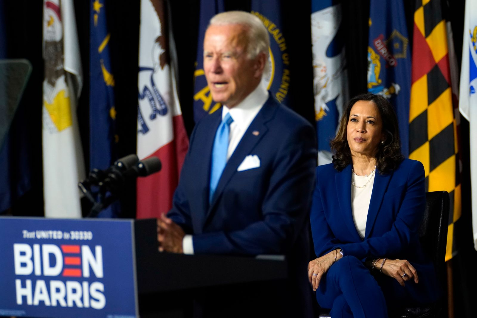 Biden zieht mit Harris als Vize-Kandidatin in Wahl
