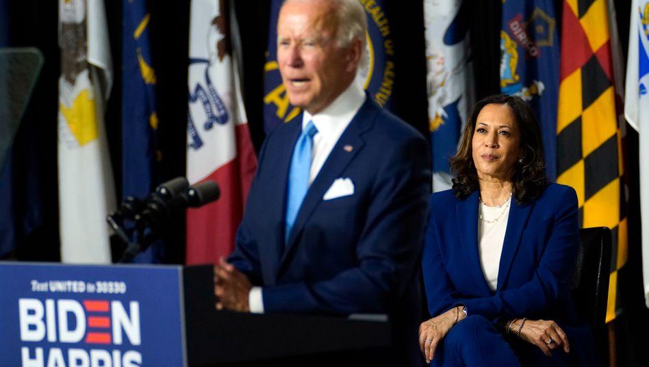 Joe Biden, Kamala Harris: Beide versprechen, das demokratische System der USA wieder zum Laufen zu bringen