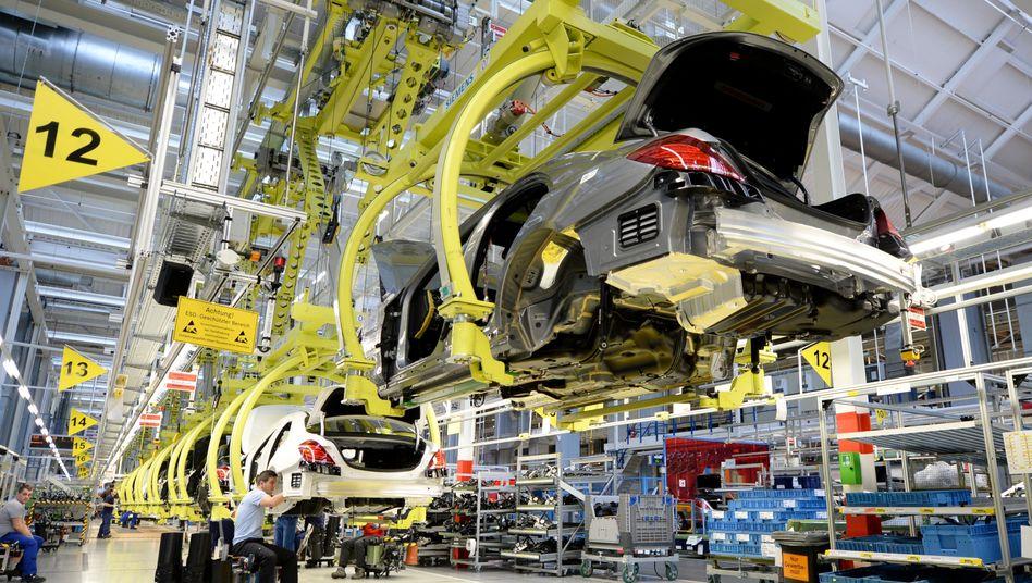 Mercedes-Werk Sindelfingen: Kontrollierter Hochlauf der Produktion bei Daimler ab 20. April