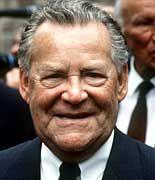 Unternehmerlegende: Firmenpatriarch Max Grundig, kurz vor seinem Tod im Jahr 1989