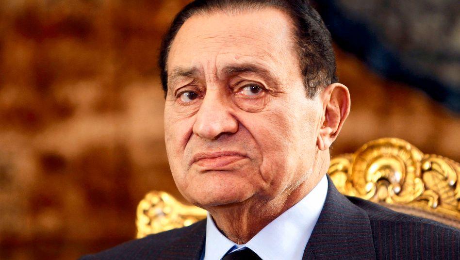 Ägyptens Präsident Mubarak: Aus Kairo geflohen