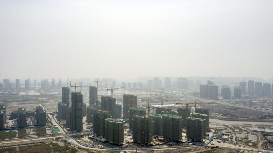 Fragiler Bauboom: Die Hangzhou New Zone in Ningbo