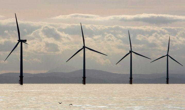Offshore-Windpark vor der britischen Küste: Die Branche soll weiter wachsen