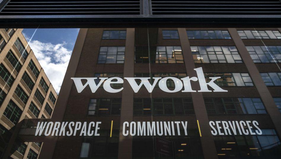 WeWork-Gebäude in New York: Der Büroraum-Anbieter geht vorerst nicht an die Börse