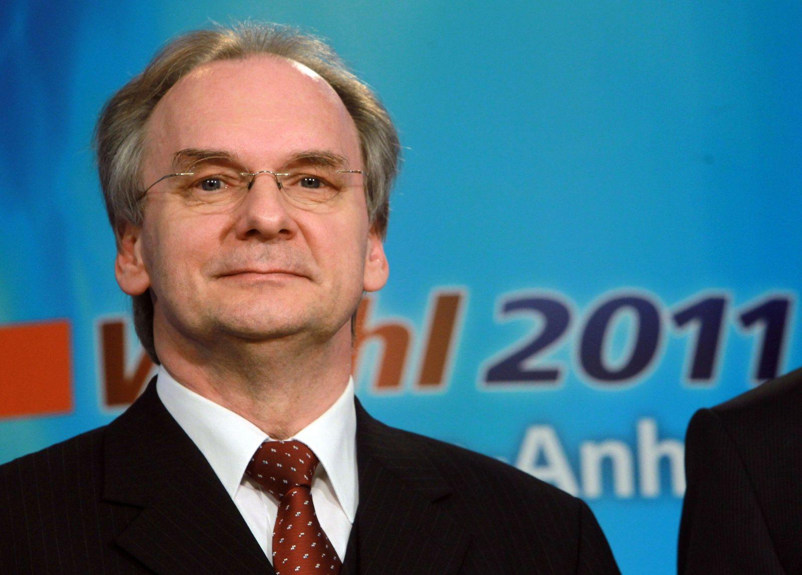 Landtagswahlen/ Sachsen-Anhalt/ CDU/ Reiner Haseloff