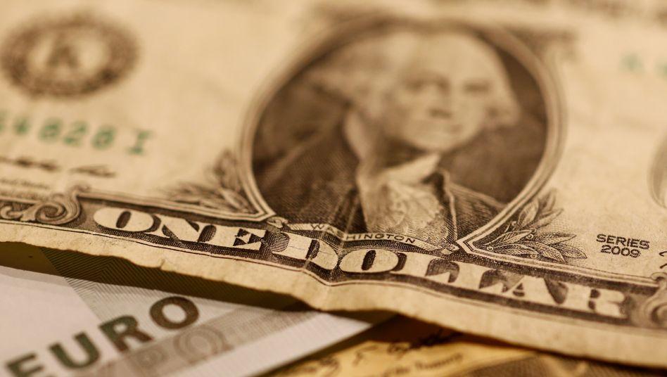 Dollar: Auf dem Weg zur Euro-Parität