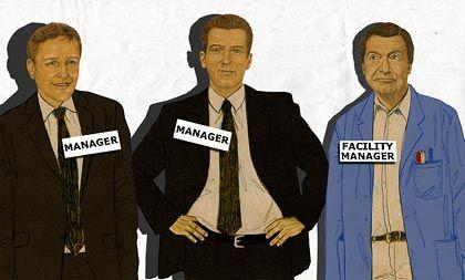 Knigge und die Titel: Alle sind Manager