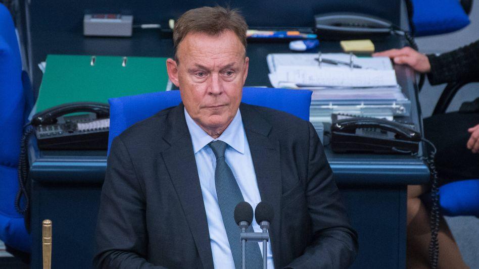 Thomas Oppermann am 2. Oktober im Bundestag