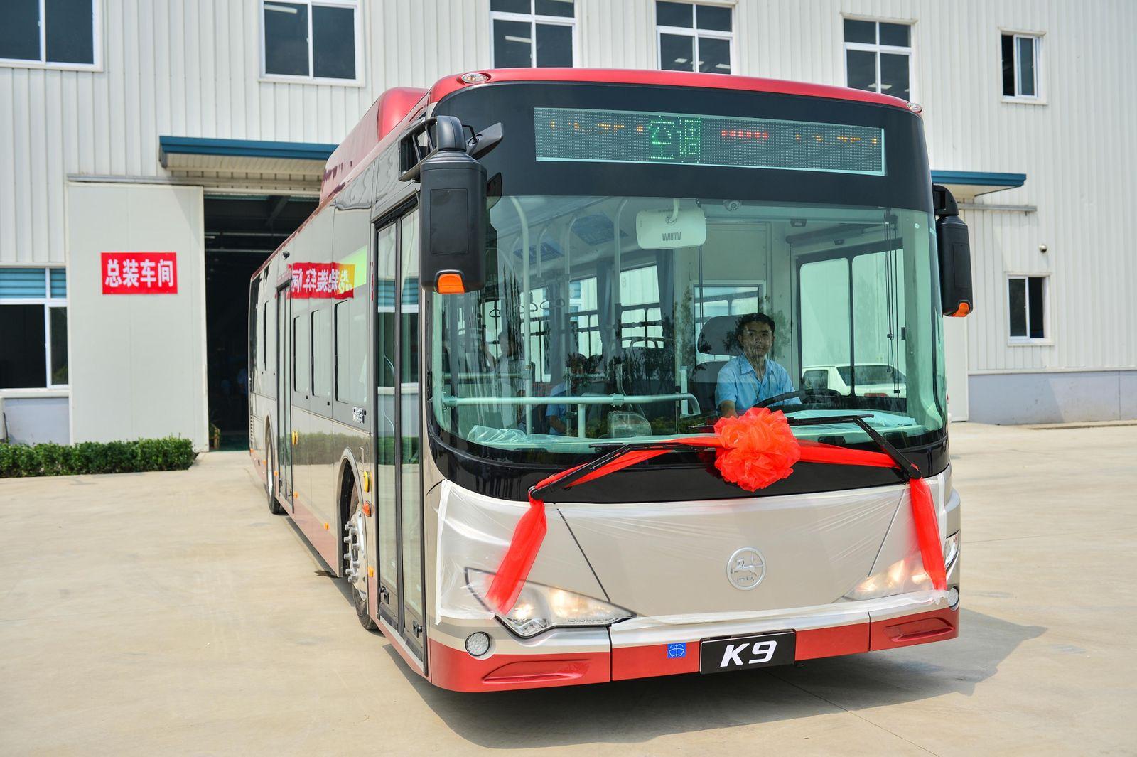 BYD Bus / Elektroantrieb