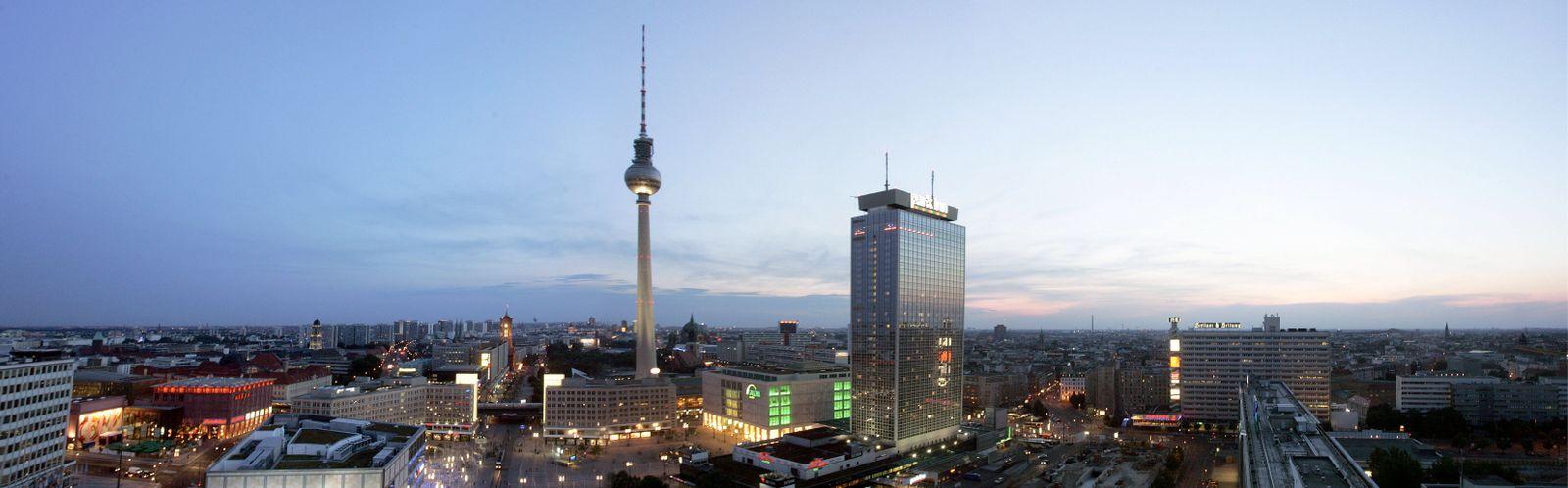 NICHT VERWENDEN Berlin / Skyline
