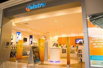 Telstra-Shop in Sydney: Trennung von Leitungs- und Endkundengeschäft