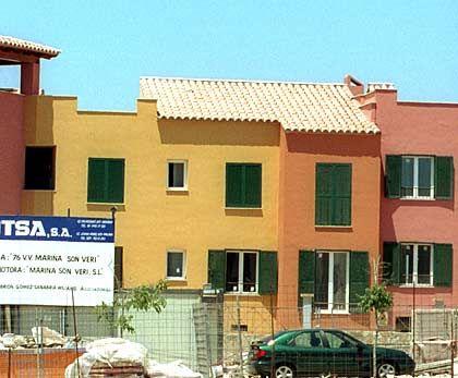 Immobilienblase: Neubaugebiet bei El Arenal auf der spanischen Insel Mallorca